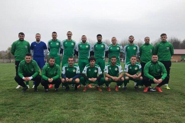Druhé mužstvo po jeseni ŠK Tvrdošovce