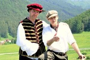 Známi martinskí menovci: Tibor (vľavo) a Dušan Kubičkovci.