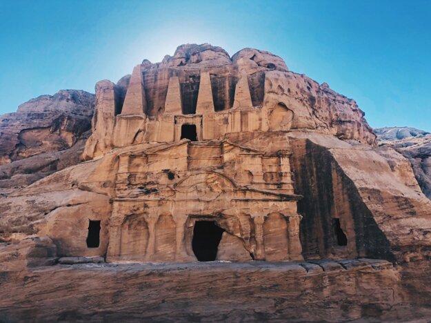 Hrobka Bab Al Siq