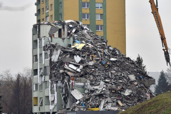 Bytovku zničil výbuch plynu 6.decembra.
