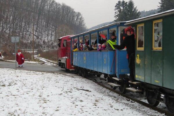 Detská železnica v Košiciach.
