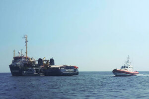 Záchranná loď Sea Watch 3.