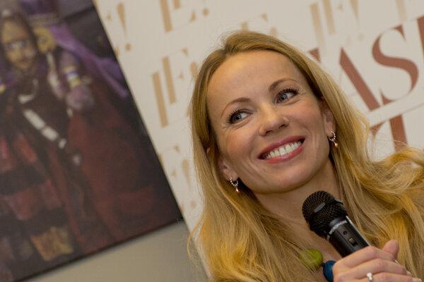 Herečka Diana Mórová.