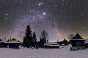 NASA vybrala za Astronomický snímok Vianočného dňa fotografiu Tomáša Slovinského.