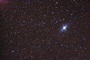 Druhou najjasnejšou hviezdou na nočnej oblohe je Canopus. Nachádza sa v južnom súhvezdí Kýl. Na zábere je odfotená z paluby ISS.