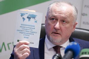 Šéf Ruskej antidopingovej agentúry (RUSADA) Jurij Ganus.
