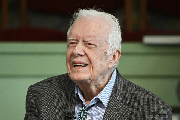 Bývalý americký prezident Jimmy Carter.