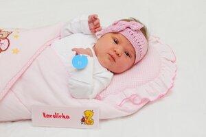 Karolína Lenická z Poruby sa narodila 11.12. v Bojniciach