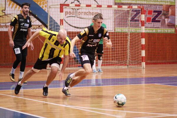 Momentka zo zápasu Handlová-Znojmo.