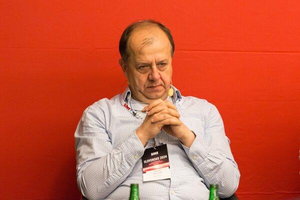 Primátor Trenčína a prezident Únie miest Slovenska Richard Rybníček.