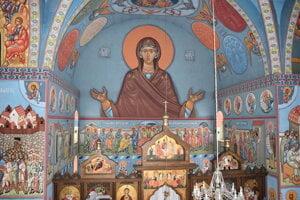 Pravoslávny chrám v Humennom je nádherný.