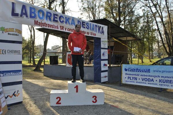 Víťaz Slovenského pohára 2019 Tibor Sahajda.