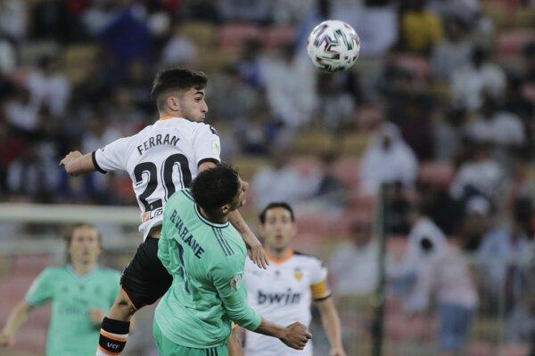 Zápas Valencia - Real Madrid.