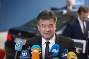 Miroslav Lajčák v Bruseli.