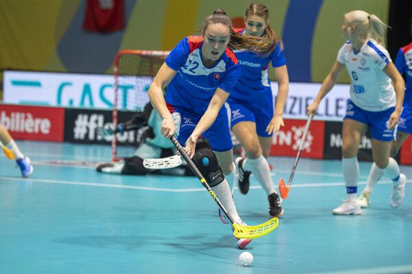 Slovenská reprezentantka Andrea Šidlová.