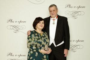 Ján Kubiš, osobitný koordinátor OSN pre Libanon, bývalý minister zahraničných vecí SR s manželkou Jaroslavou