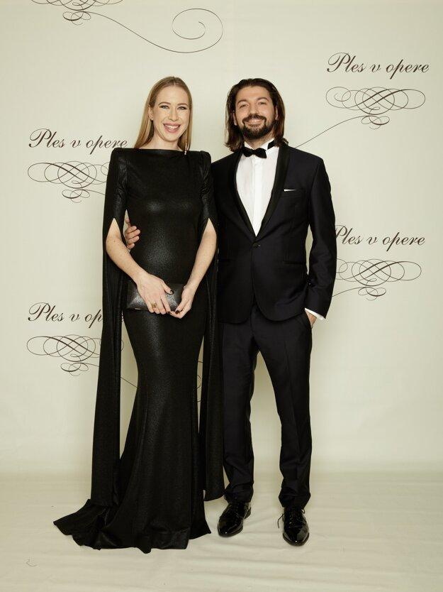 Zuzana Hekel, riaditeľka Divadla Jána Palárika v Trnave s manželom Martinom