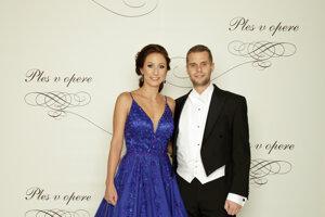 Martin Klus, podpredseda Národnej rady SR s partnerkou Ivanou Zvadovou