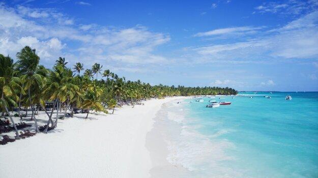 Pláže na ostrove Saona