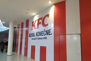 KFC chystá reštauráciu v Bory Mall.