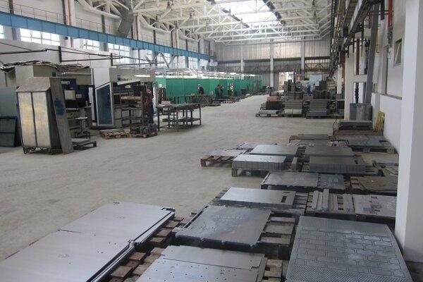 Výrobné priestory firmy.