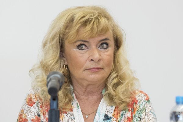 Prezidentka Asociácie na ochranu práv pacientov Mária Lévyová.