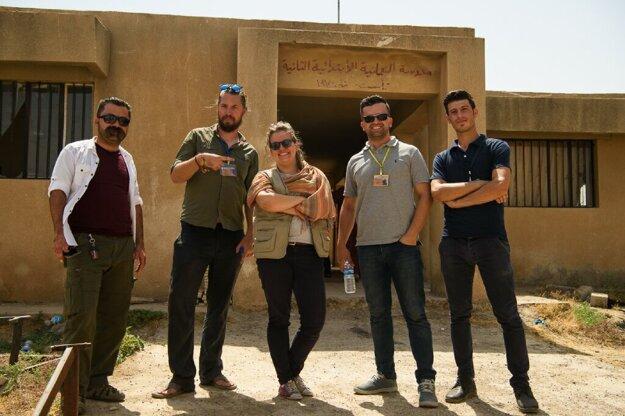 S kolegami na misii v Iraku