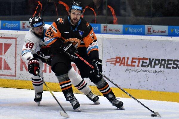 Michalovský útočník Peter Galamboš si proti majstrovi pripísal gól a asistenciu.