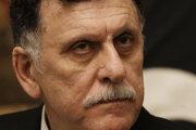 Predseda líbyjskej vlády národnej jednoty Fájiz Sarrádž.