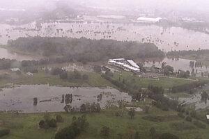 Požiare v Austrálii v niektorých oblastiach vystriedali záplavy.