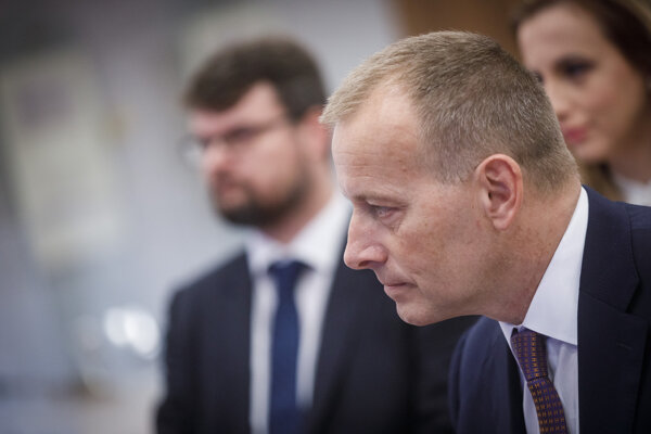 Predseda hnutia Sme rodina Boris Kollár.