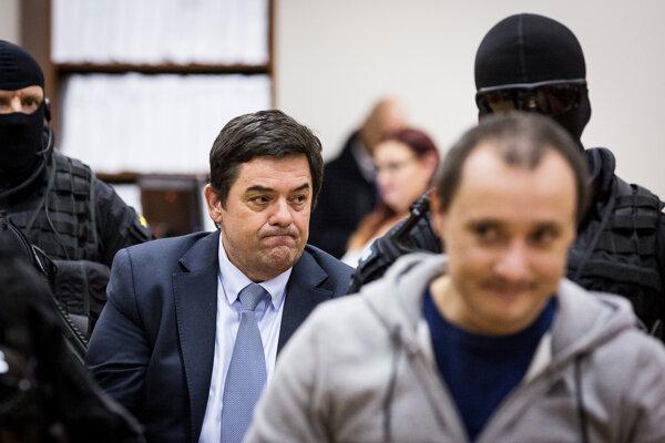 Obžalovaný podnikateľ Marian Kočner a Tomáš Szabó.