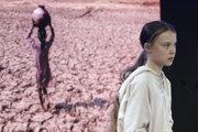 Environmentálna aktivistka Greta Thunbergová.