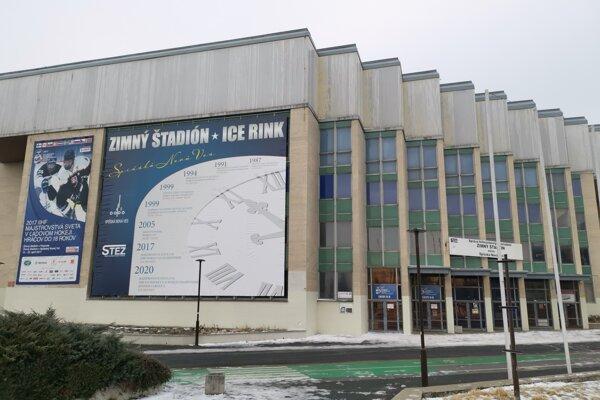 Zimný štadión v Spišskej Novej Vsi.