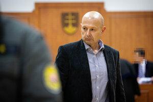 Miroslav Kriak počas hlavného pojednávania vo veci vraždy novinára Jána Kuciaka.
