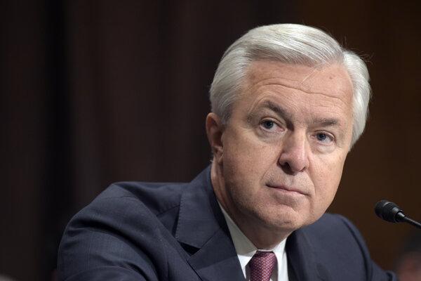 Bývalý generálny riaditeľ banky Wells Fargo John Stumpf.