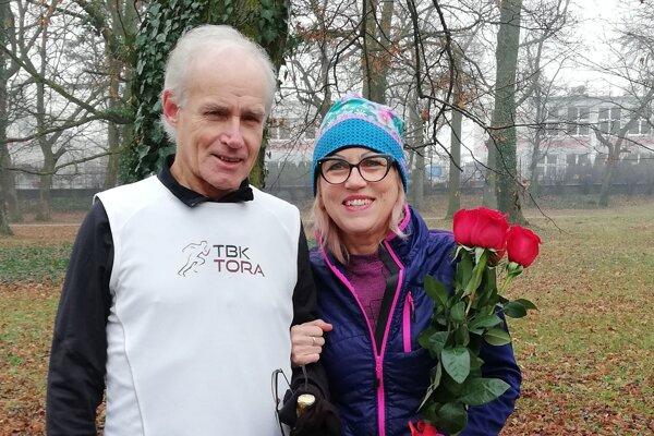 Rudolf Petrikovič a Ľubomíra Garayová.