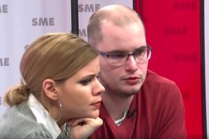 Zuzana Kovačič Hanzelová a Adam Valček