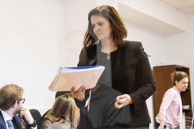 Znalkyňa z oblasti grafickej diagnostiky Tatiana Dugovičová.