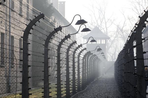 Areál koncentračného tábora Auschwitz-Birkenau.