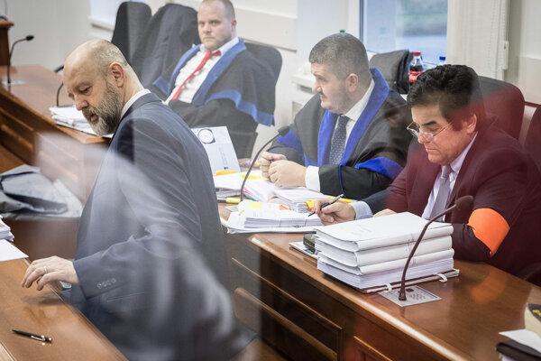 Marian Kočner a Pavol Rusko.