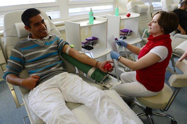 Dar krv možno v piatok 28. augusta dopoludnia na Mestskom úrade v Prievidzi.
