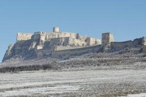 Spišský hrad čaká sanácia hradobného múru.