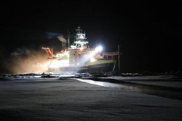 Plavidlo Polarstern expedície MOSAiC.