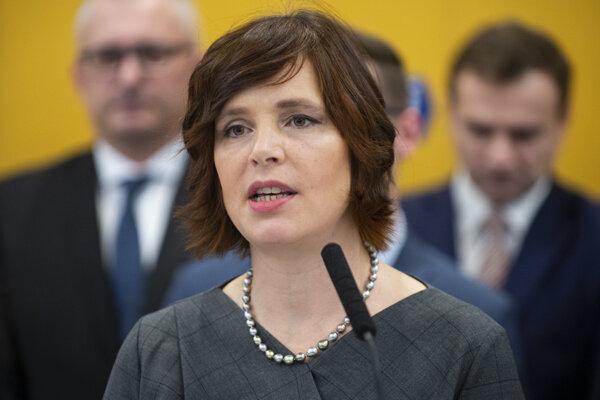 Podpredsedníčka strany Za ľudí Veronika Remišová.