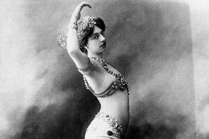 Na nedatovanej snímke tanečnica Mata Hari.