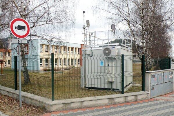 Takto vyzerá stanica v Ružomberku na Ul. Riadok.