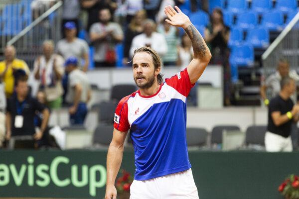 Tenista Andrej Martin.