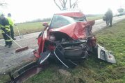 Vážna nehoda pri Šarovciach.