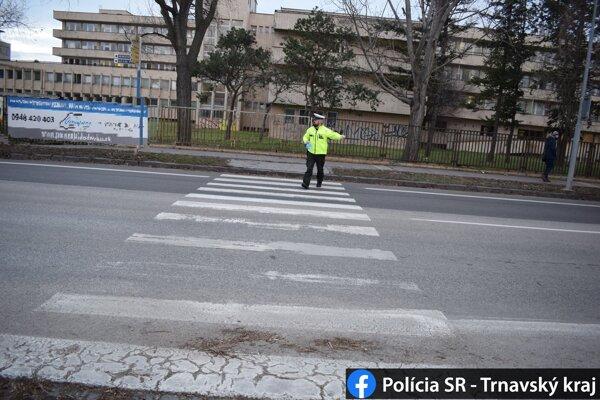 Preventívna akcia polície.